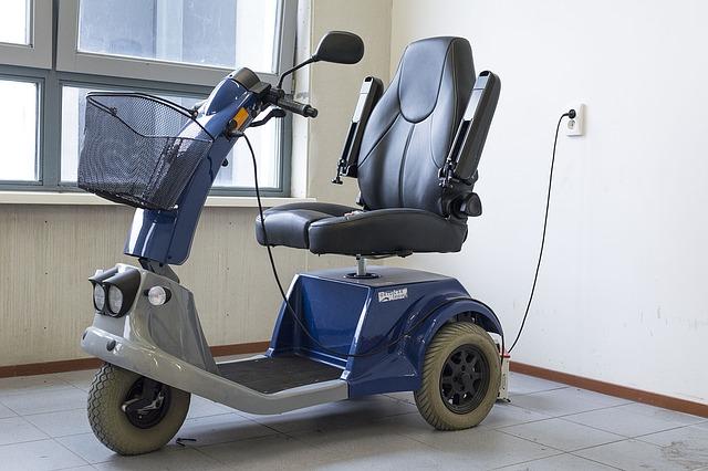 invalidní koloběžka